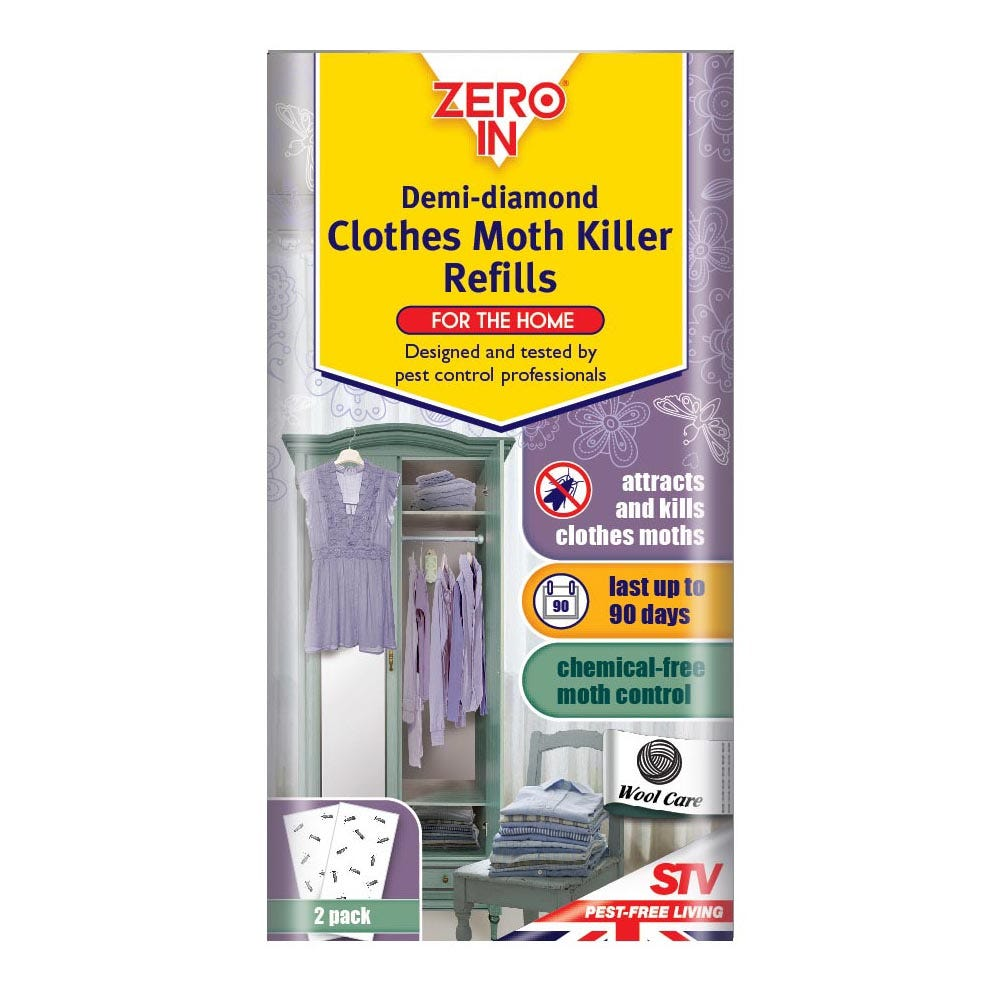 Image of Demi-diamond Clothes Moth Killer - Refills - Twinpack