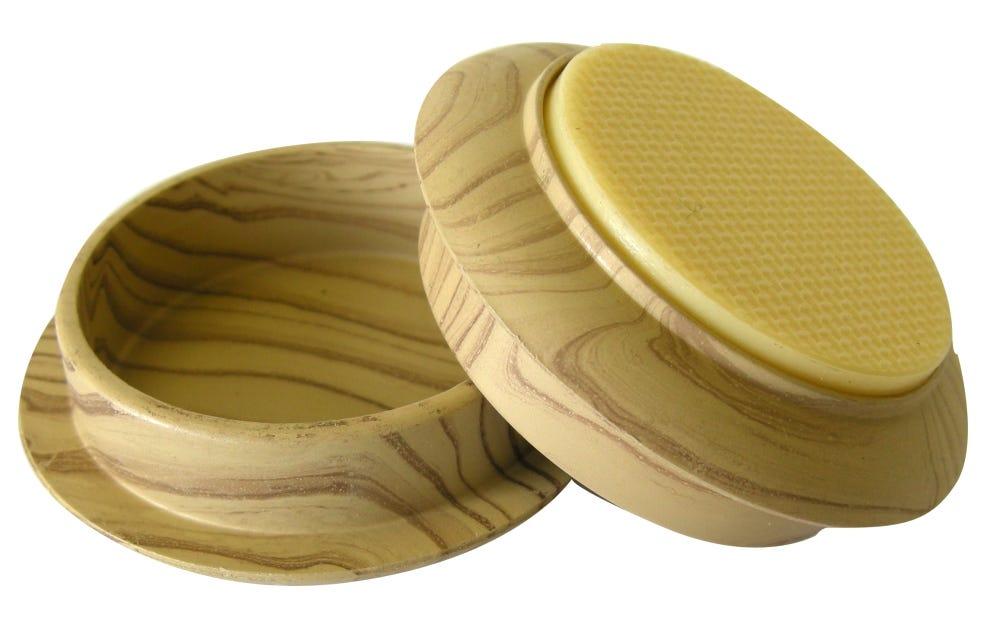 non slip castor cups light wood grain 45mm 4 pack. Black Bedroom Furniture Sets. Home Design Ideas