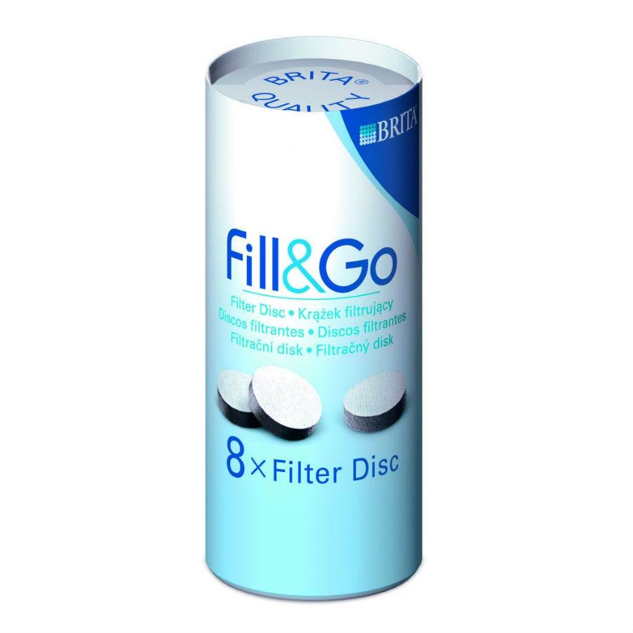 Image of Brita Fill & Go Filter Discs – Pack of 8