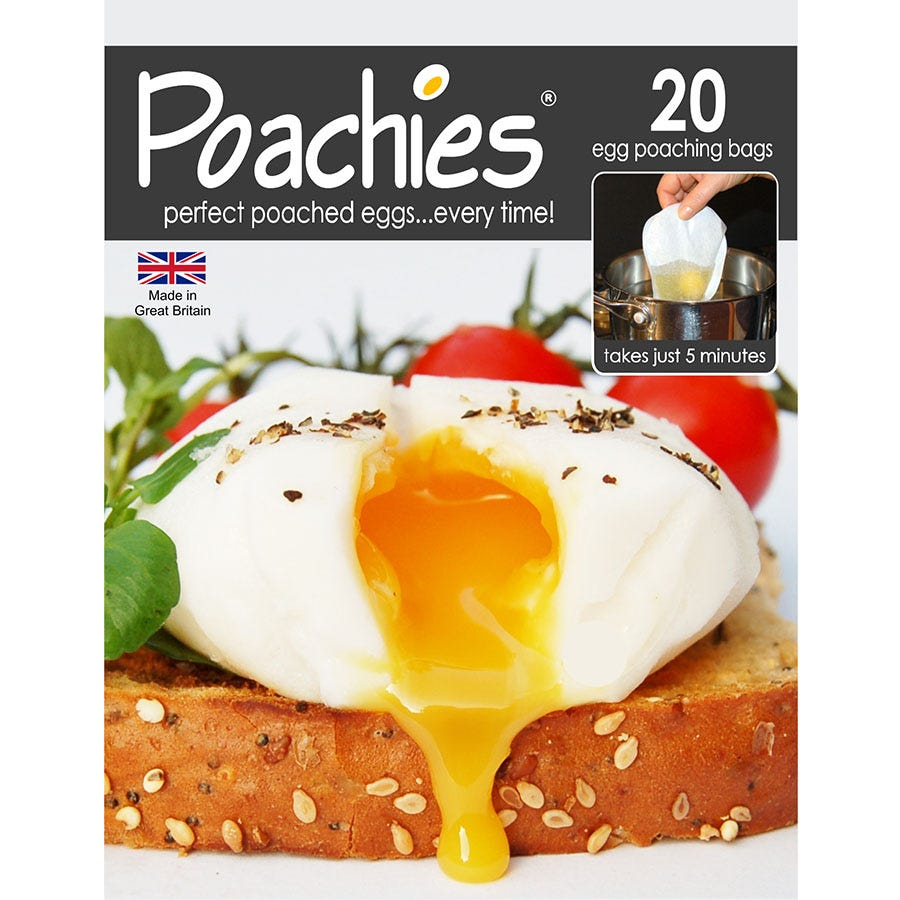 Compare prices for Eddingtons Poachies Revolutionary Egg-poaching Bags - 20 Pack