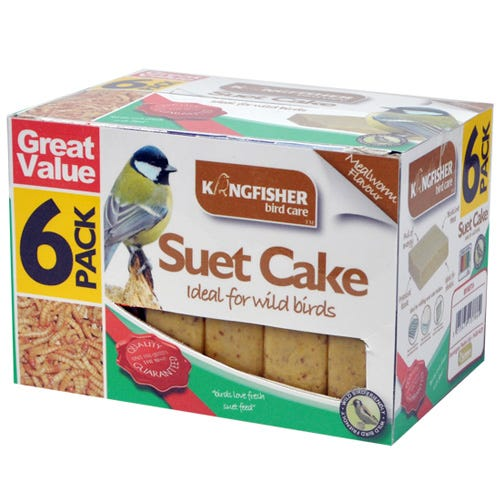 Compare prices for Kingfisher Suet Cakes - Pack of 6