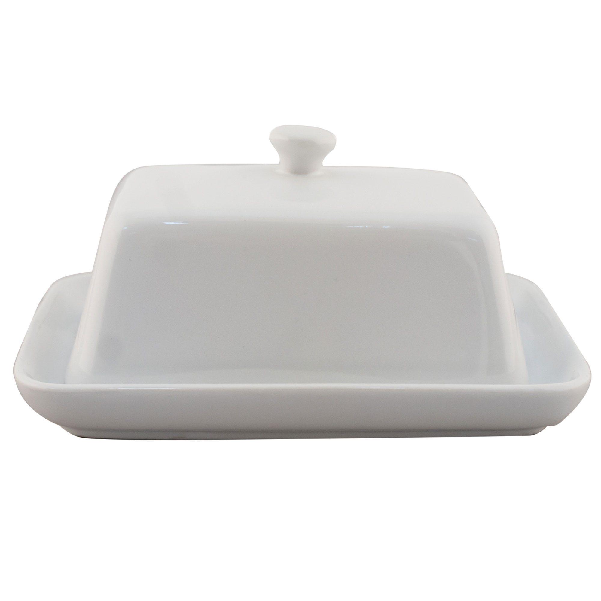 Image of Alfred Franks & Bartlett Porcelain Butter Dish