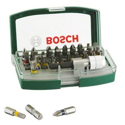 Compare retail prices of Bosch 32 Piece Screwdriver Set to get the best deal online