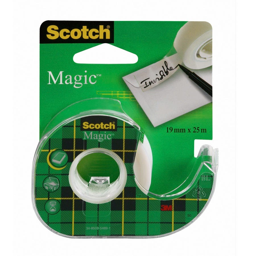 3M Scotch Magic Clear Tape with Dispenser