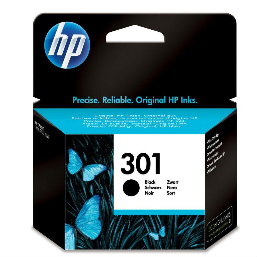 HP Hewlett-Packard 301 Black Ink Cartridge