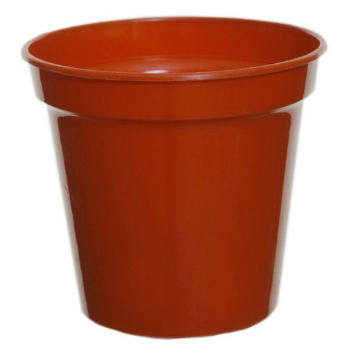 Compare prices for Whitefurze 12.7cm Pots - Pack of 5