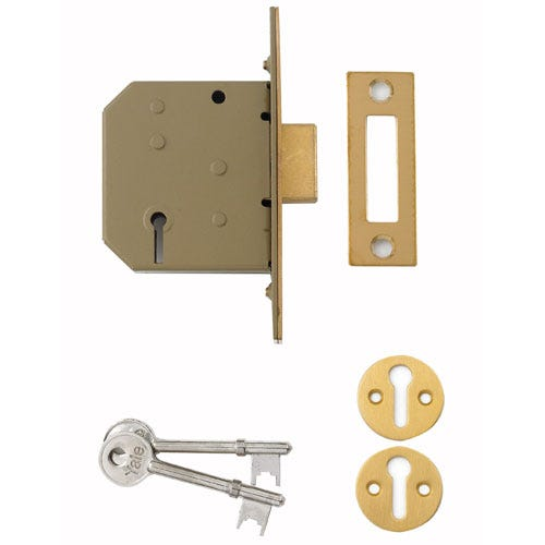 Compare prices for Yale 2.5 Inch 3-Lever Deadlock