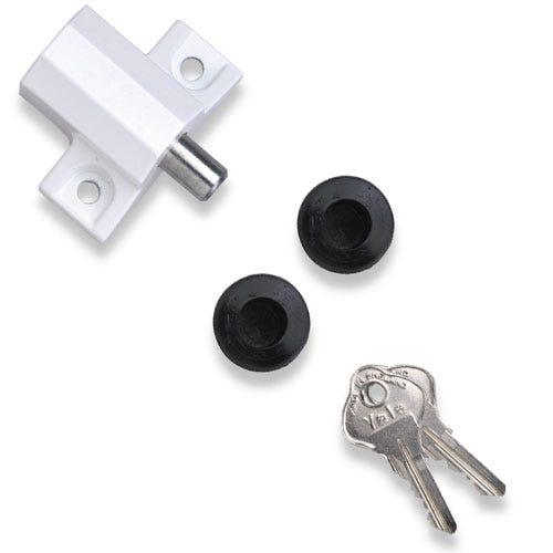 Yale keyless digital door lock with nightlatch for Door yale lock