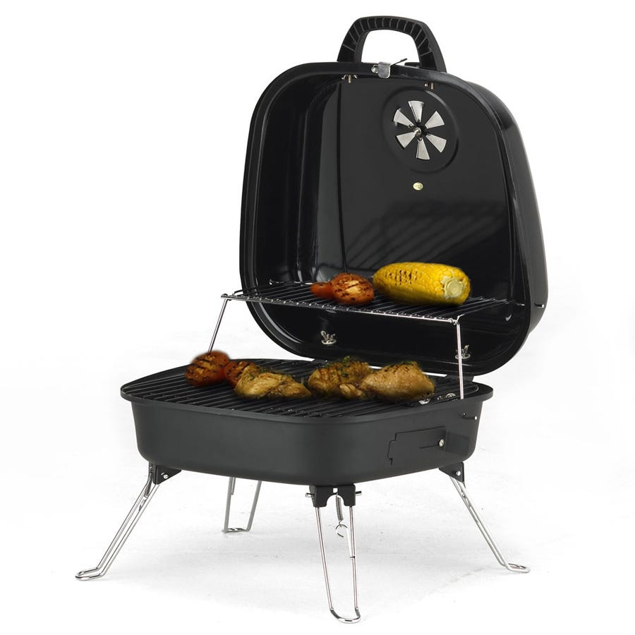 cadac safari chef 30cm high pressure portable barbecue. Black Bedroom Furniture Sets. Home Design Ideas