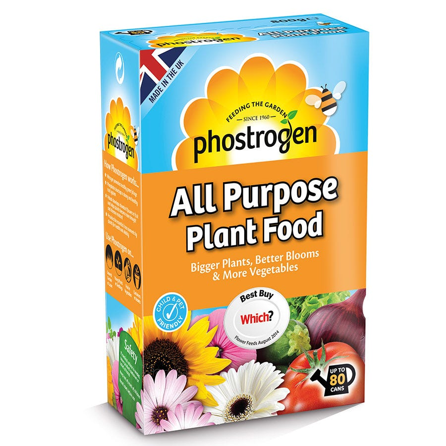 Compare prices for Bayer Phostrogen All-Purpose Plant Food - 800g