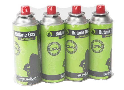 Image of Summit Butane Gas Canisters – 4 Pack