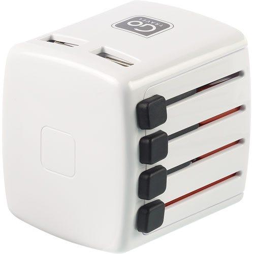 Compare prices for Design Go Design-Go Worldwide Adaptor Double USB