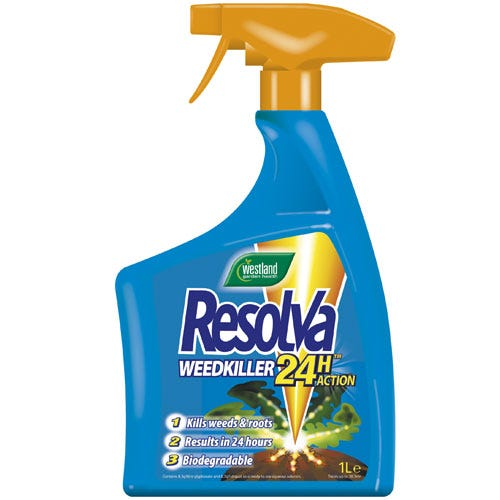Compare prices for Westland Resolva 24 Hour Weed Killer - 1L