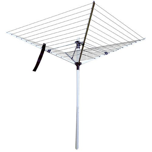 Compare prices for Kingfisher 50m Aluminium Rotary Airer