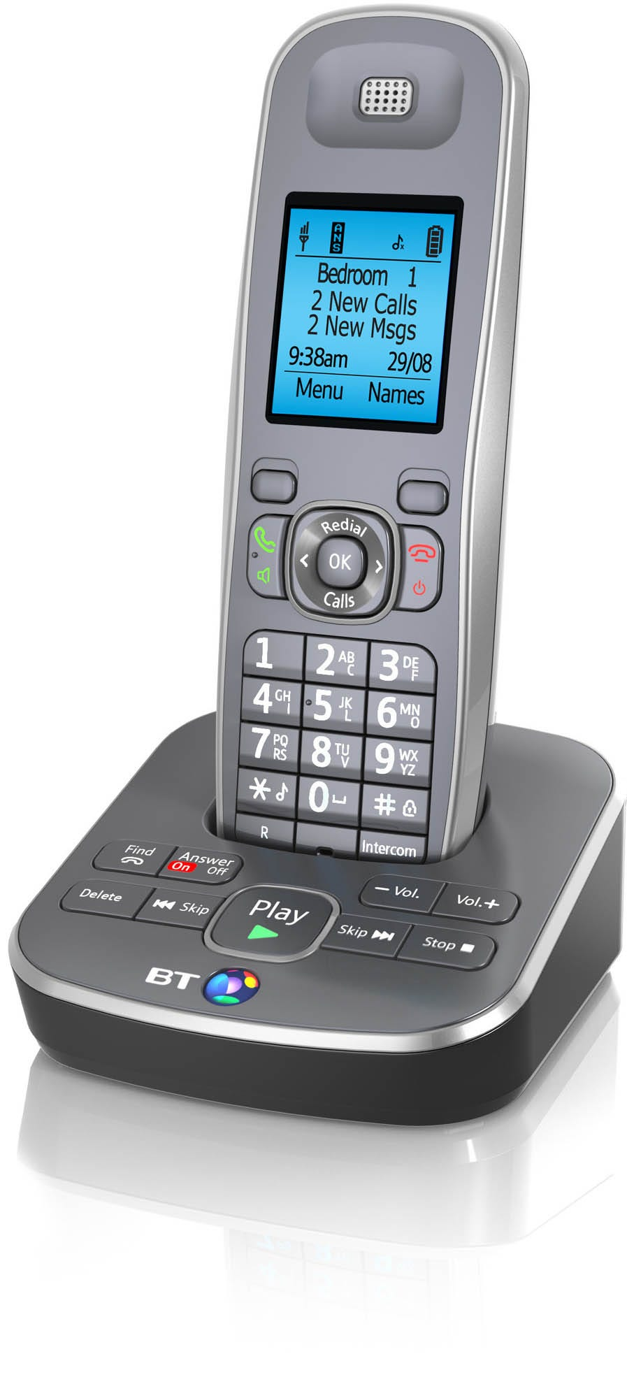 BT 7500 Single Cordless Telephone with Answering Machine