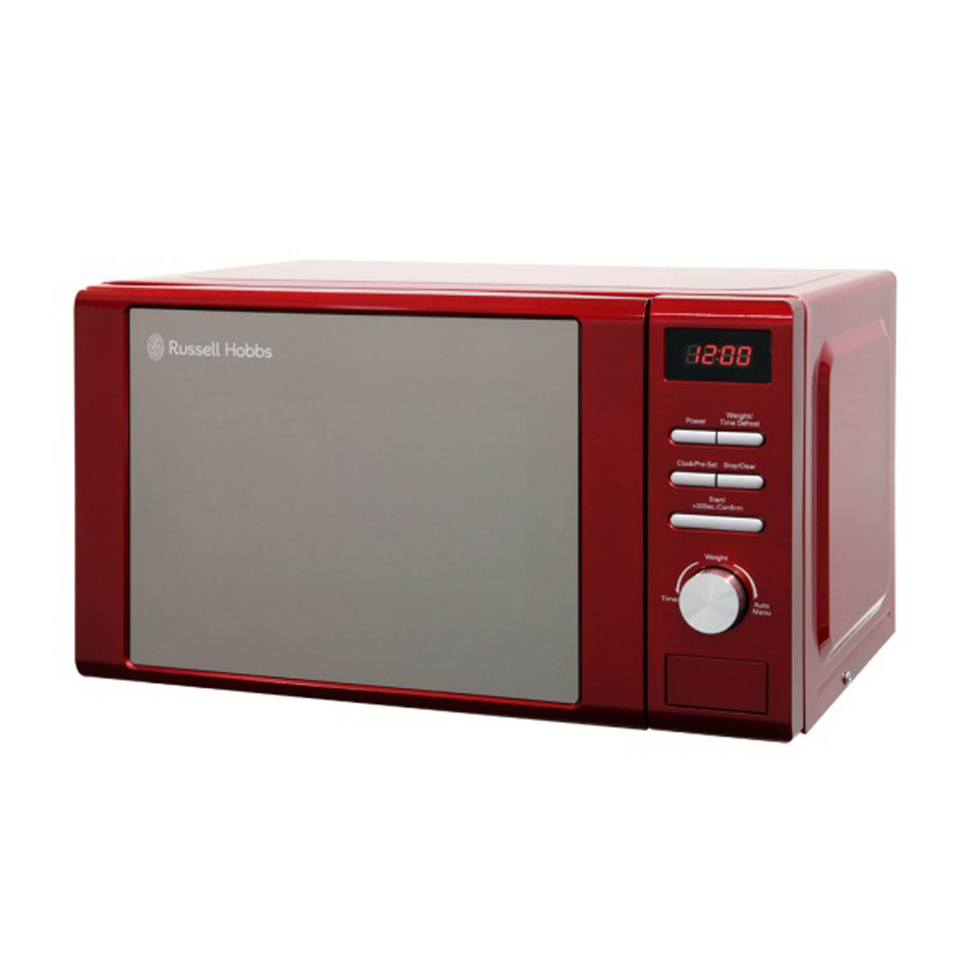 Russell Hobbs RHM2064R 800W 20L Digital Microwave - Red