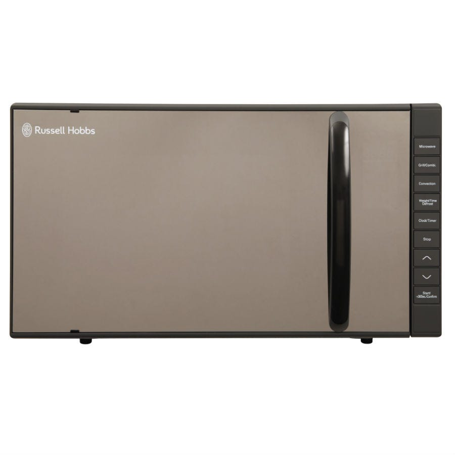 Compare prices for Russell Hobbs 23 Litre Grey Microwave with Grill and Convection Oven - RHM2361GCG