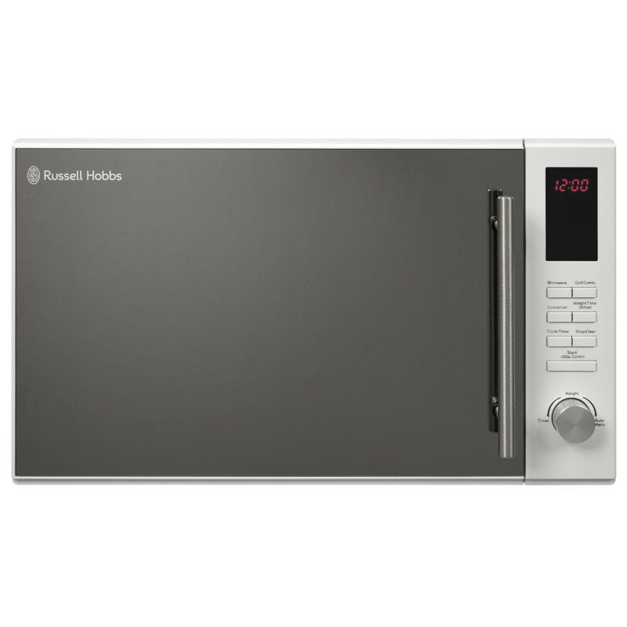 Russell Hobbs RHM3003 30 Litre Microwave with Grill & Convection Oven - White