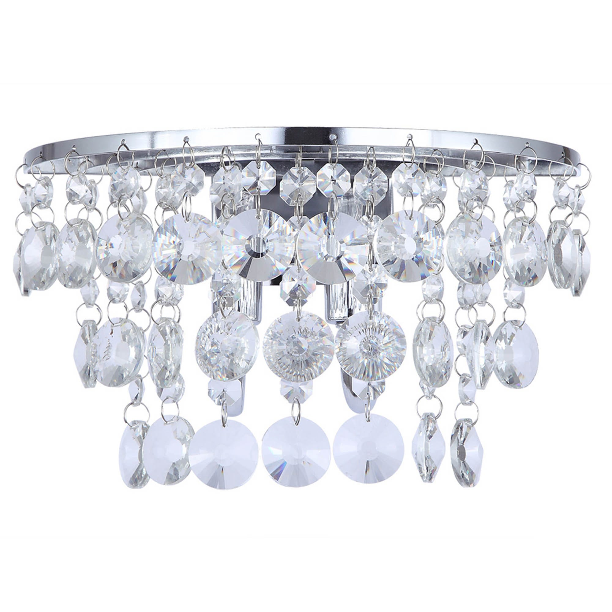 Image of Diego Chrome Wall Light