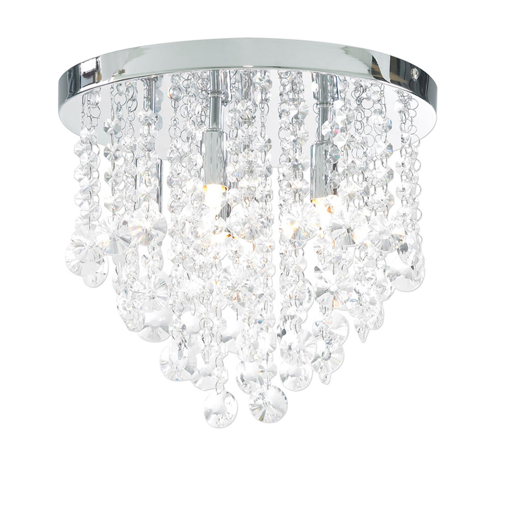 Image of Diego 6Lt Chrome Ceiling Light
