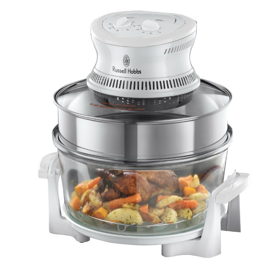 Compare prices for Russell Hobbs 18537 Halogen Oven with Expandable Capacity