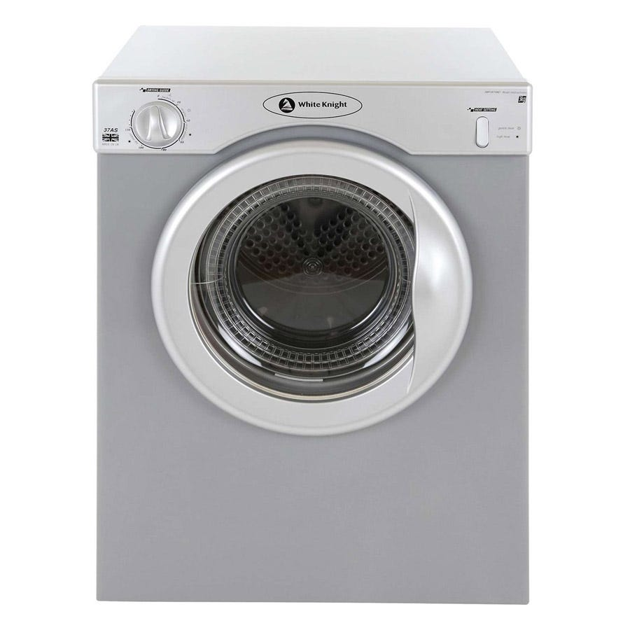 Compare prices for White Knight C37AS 3kg Compact Uni-directional Dryer - Silver