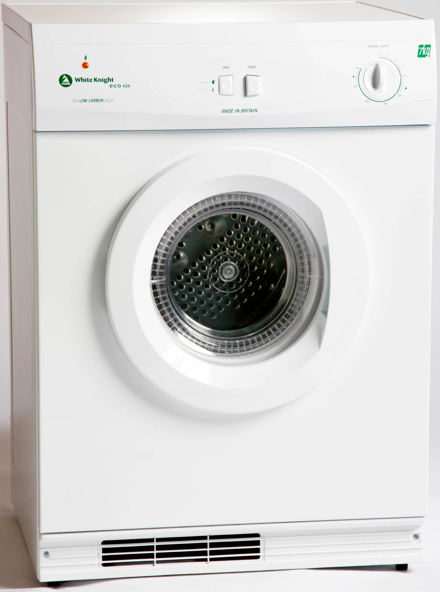 Compare prices for White Knight 7kg Reverse Action Eco Gas Dryer - White
