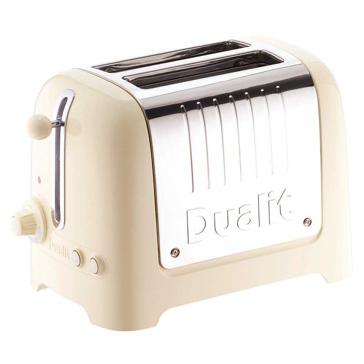 Dualit 26202 2-Slice Lite Toaster - Cream