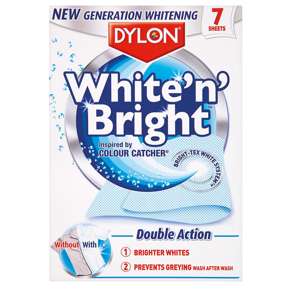 Robert Dyas/Cleaning & Decorating/Cleaning Power/Dylon White & Bright Sheets
