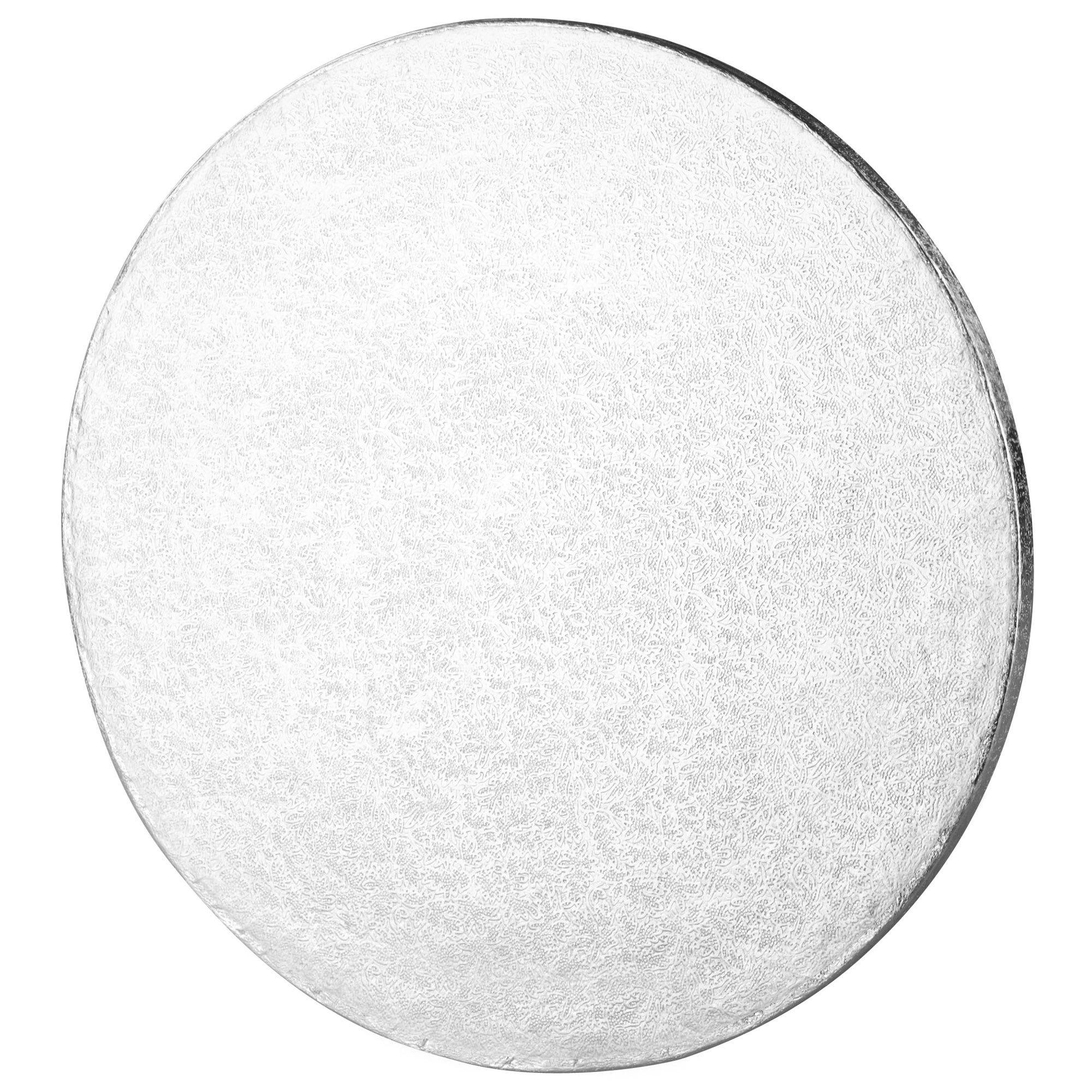 Compare prices for Tala 10 Inch Round Cake Board Silver Foil