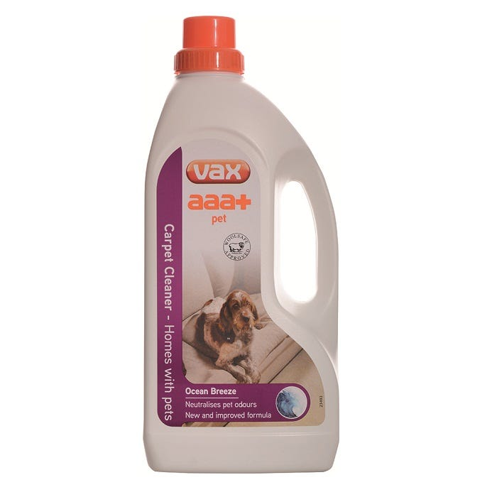 Image of Vax AAA+ Pet Carpet Cleaner Solution – 1.5L