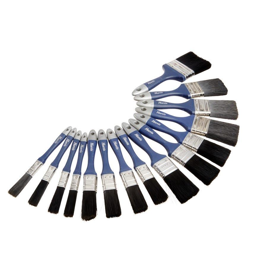 Harris Smoothglide 15-Piece Paintbrush Set