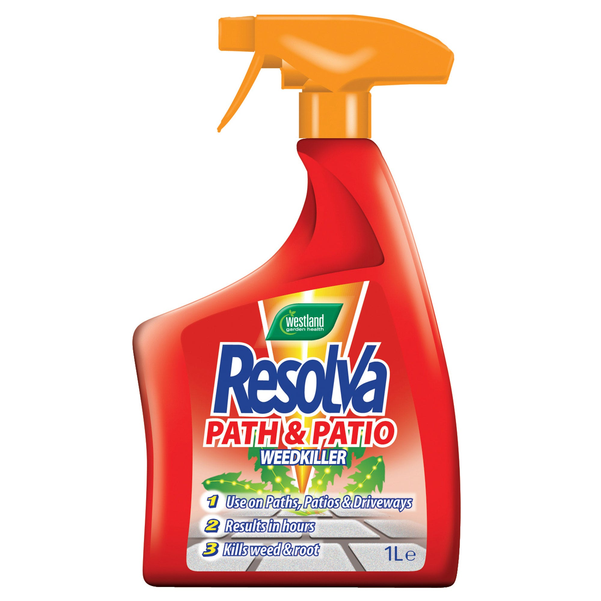 Image of Resolva Path And Patio Weedkiller 1 Litre