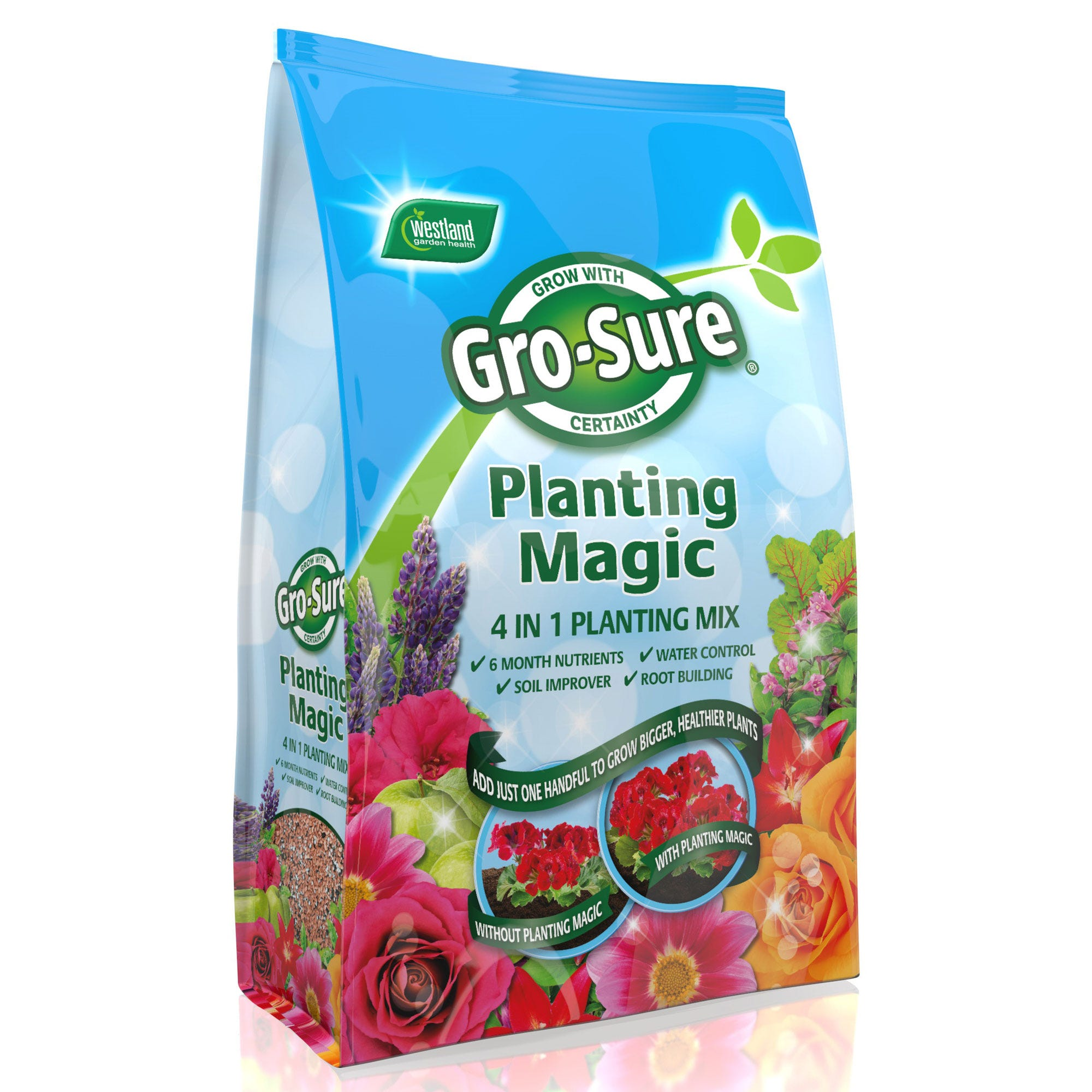 Image of Gro-Sure Planting Magic 4 in 1 Planting Mix