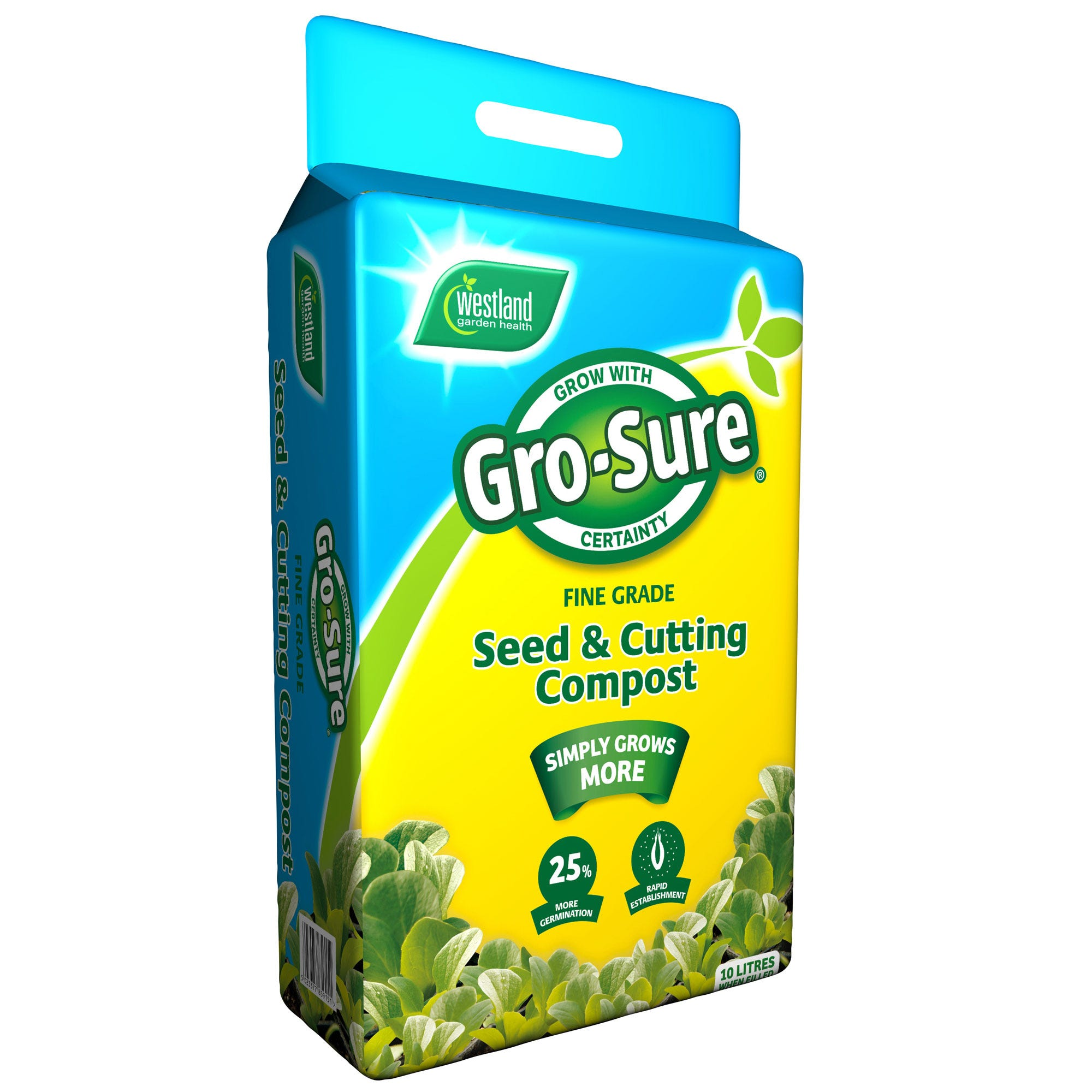 Image of Gro-Sure Seed & Cutting Compost – 10L
