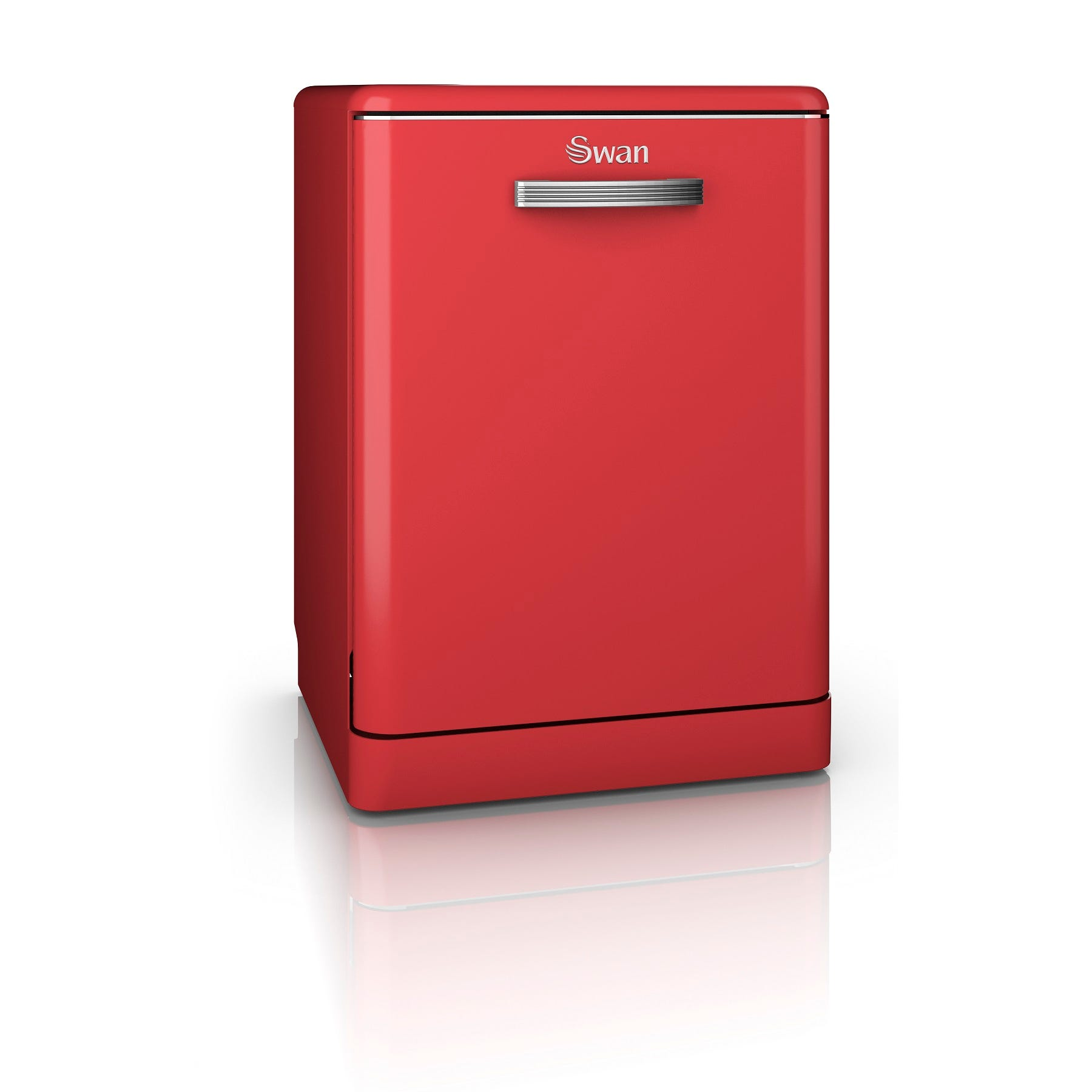Swan SDW7040RN Retro Dishwasher - Red