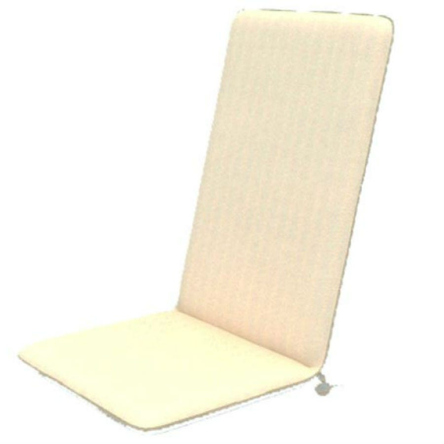Image of Cream Seat and Back Cushions – Set of 6