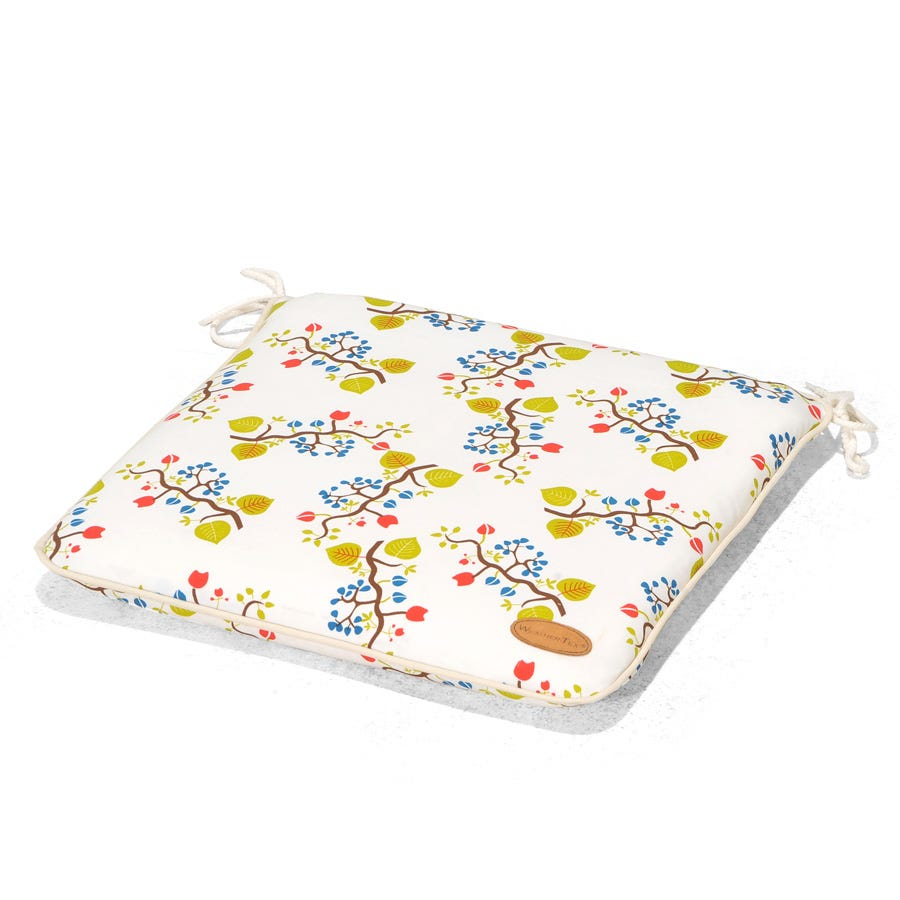 Image of Spring Flower Seat Cushions – Set of 2