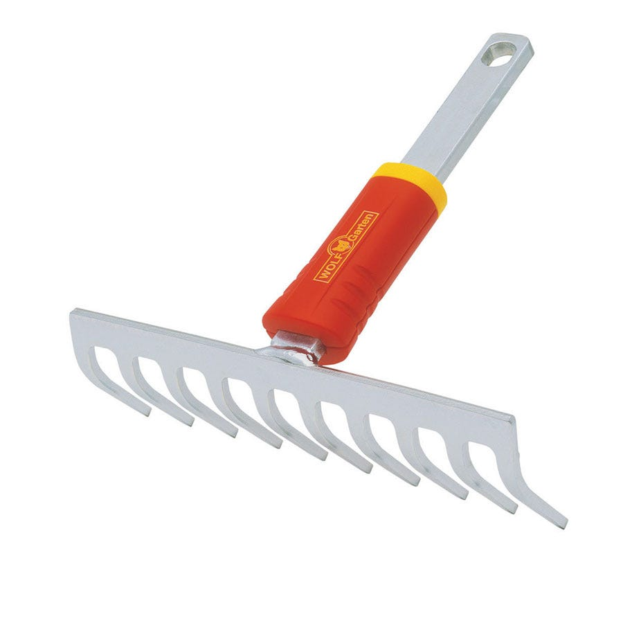 Compare prices for Wolf-Garten Close Toothed Rake - 19cm