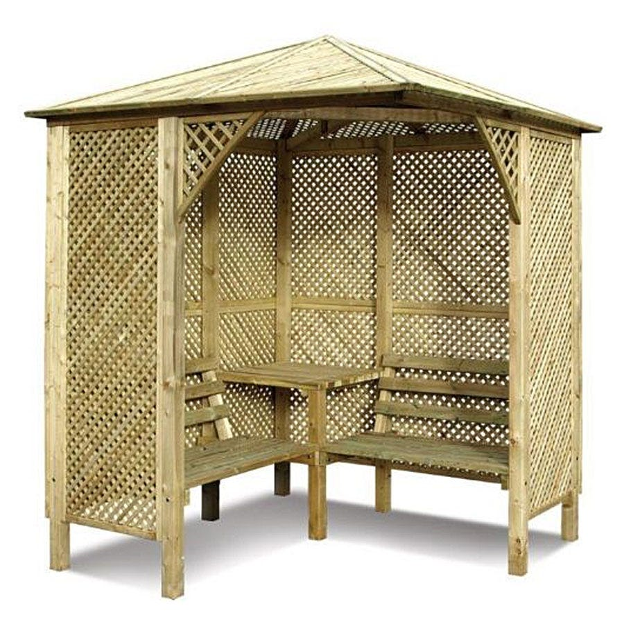 Compare prices for Grange Fencing Valencia Corner Arbour