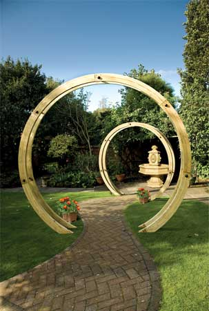 Compare prices for Grange Fencing Free Standing Flower Circle