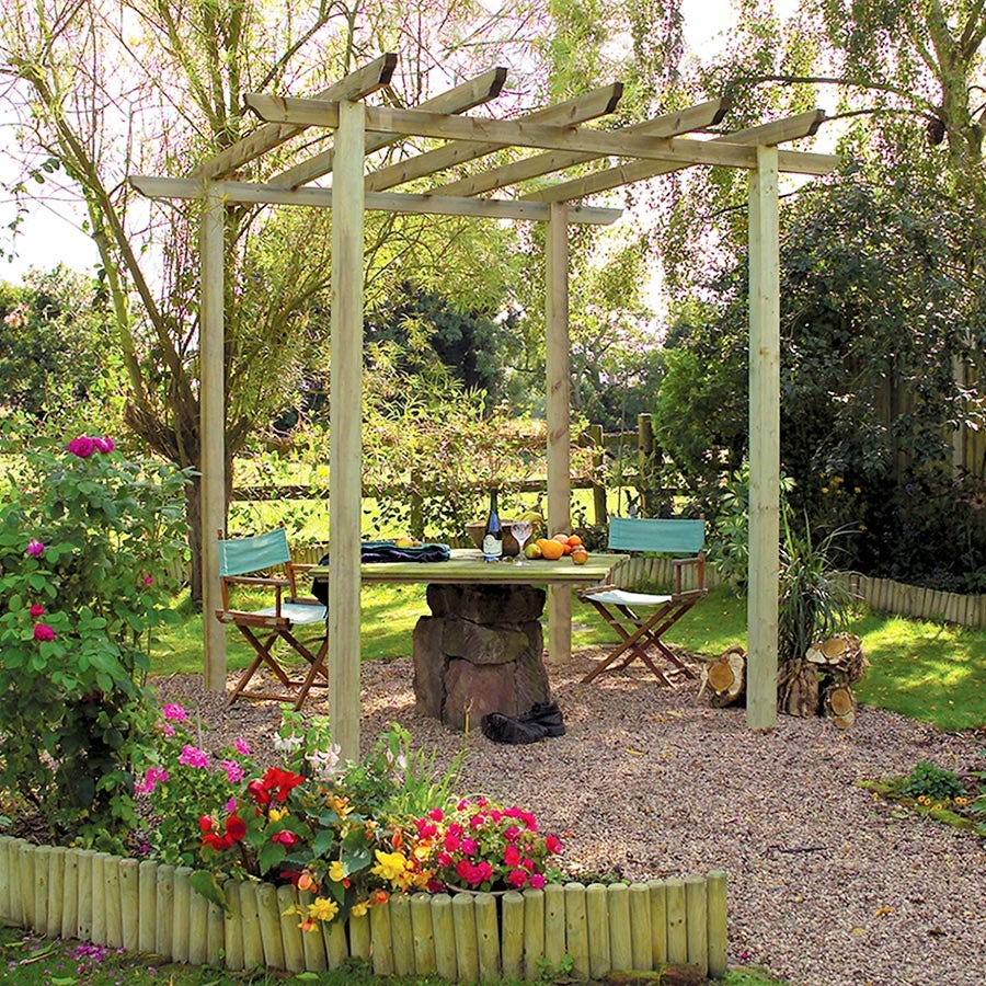 Compare prices for Grange Fencing Traditional Garden Pergola