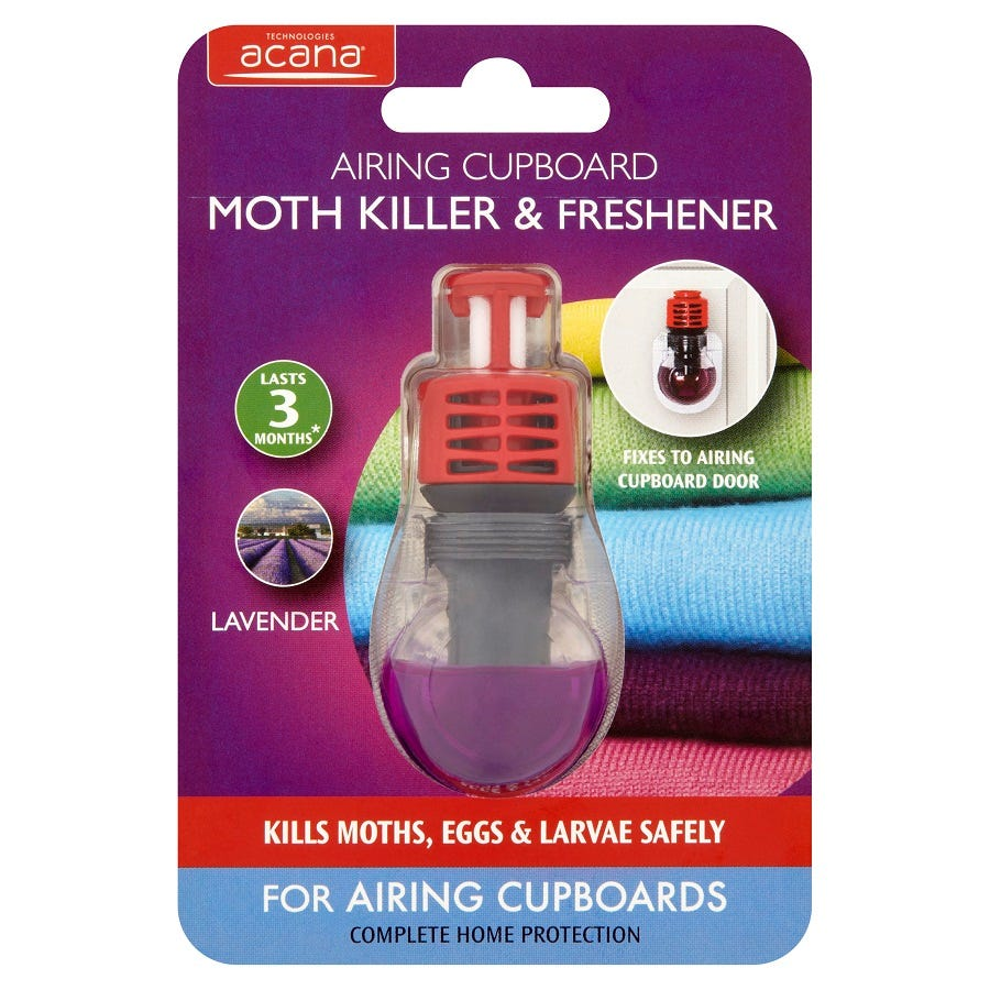 Acana Moth Killer and Air Freshener for Airing Cupboards
