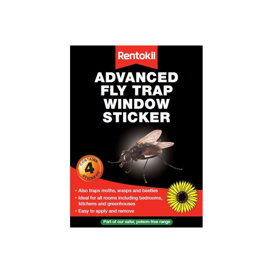 Image of Rentokil Advanced Fly Trap Window Sticker
