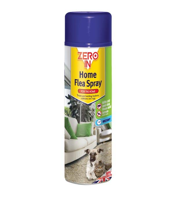 Image of Zero In Home Flea Spray - Aerosol 300ml