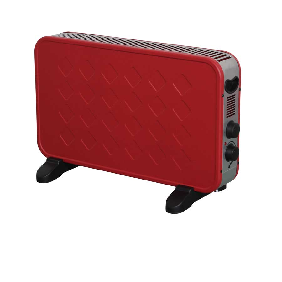 Image of Connect-It 2000W Convector Heater – Red