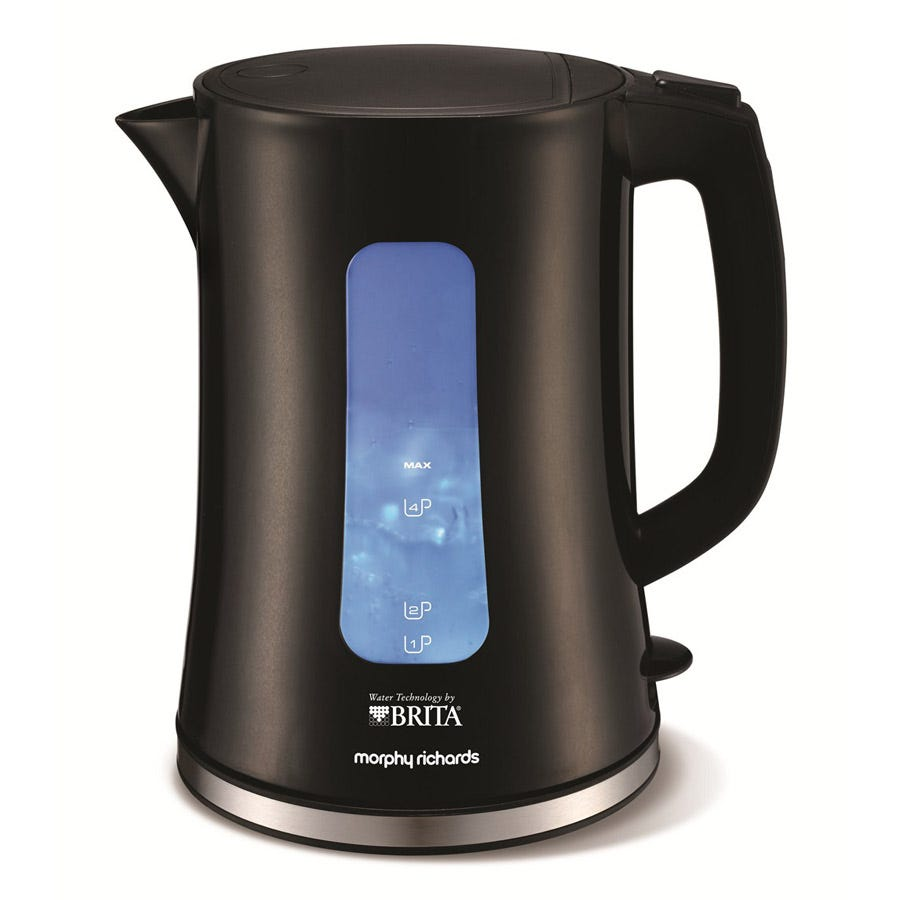 Morphy Richards Accents 1.5L Brita Water Filter Kettle - Black