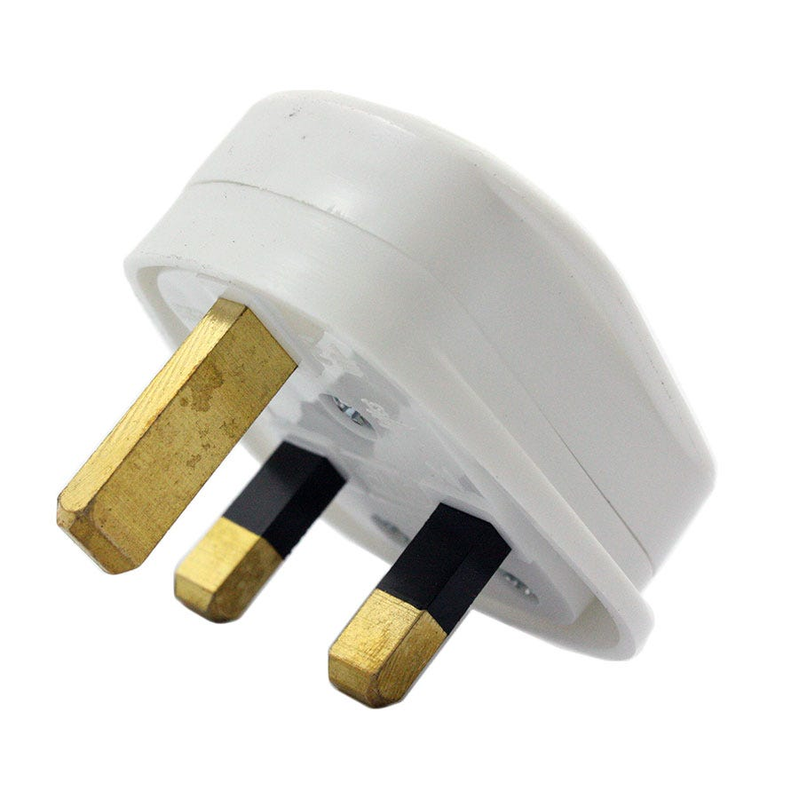 13amp 3 pin impact resistant 240v plug. Black Bedroom Furniture Sets. Home Design Ideas
