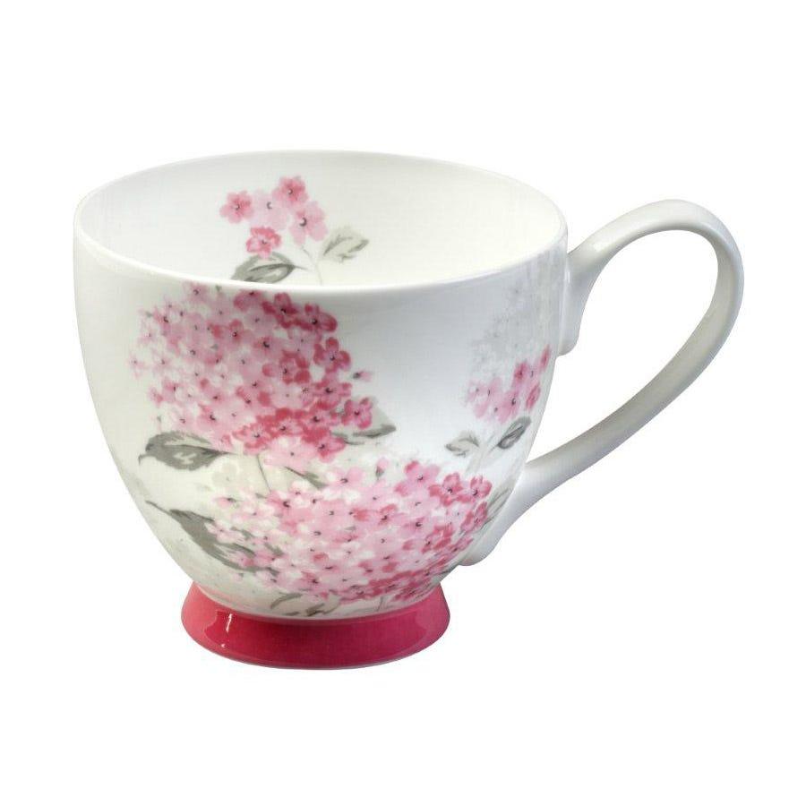 Image of Portobello by Inspire Ami Fine Bone China Footed Mug - Pink