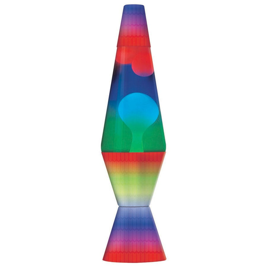 Rainbow Lava Lamp